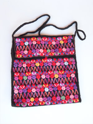 FRIENDSHIP BRACELETS / Chamula handwoven large size handbag